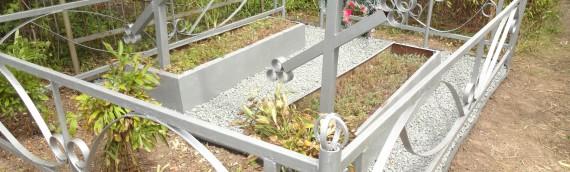 Ремонтные работы на кладбище в Днепре